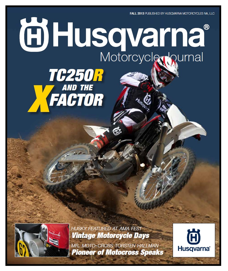 Fall 2013 Husqvarna Motorcycle Journal .get Your FREE
