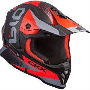 ckx youth helmet red