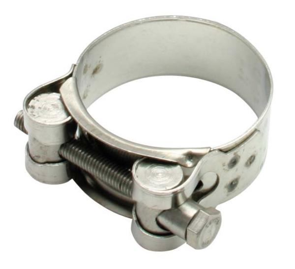 DRC ZETA PIPE CLAMP S/S 36-39MM